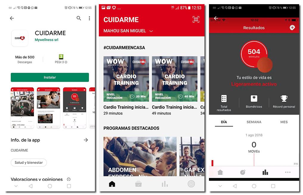 'Cuidarme', la 'app' de salud personal de Mahou San Miguel abierta a sus hosteleros