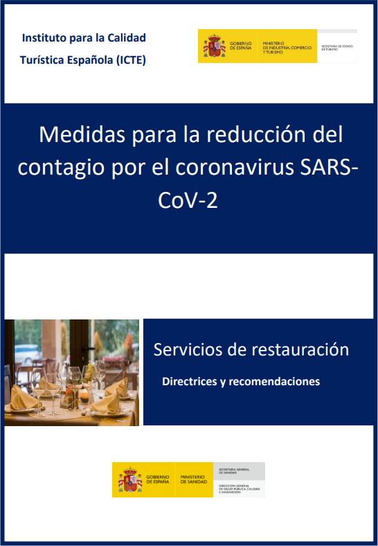 Protocolo especial COVID-19 en prevención y seguridad en servicios de restauración